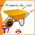 QINGTAI steel frame wheelbarrow customized for outdoor Spaces