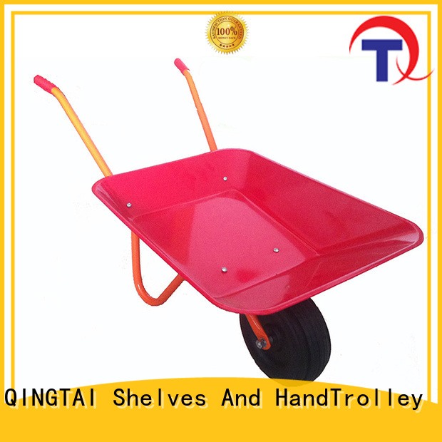Strong structure wheelbarrow price manufacturer for yard
