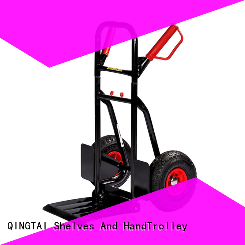 QINGTAI Best collapsible 2 wheel dolly wholesale for load heavy objects