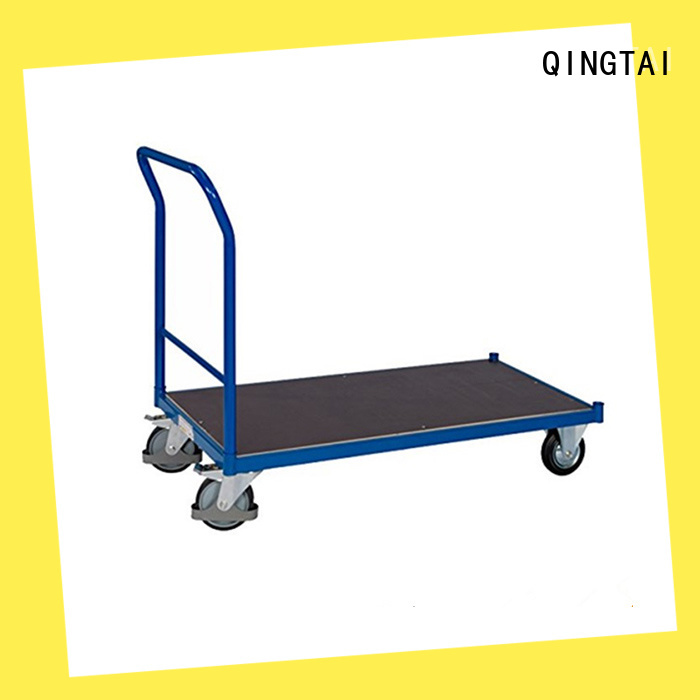 QINGTAI High-quality flatbed platform truck Suppliers for unload heavy objects